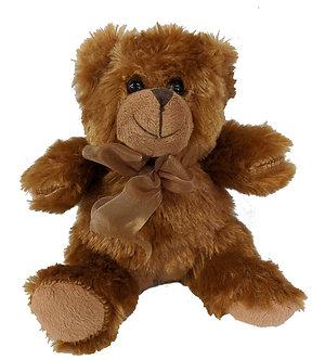 BROWN PLUSH TEDDY BEAR