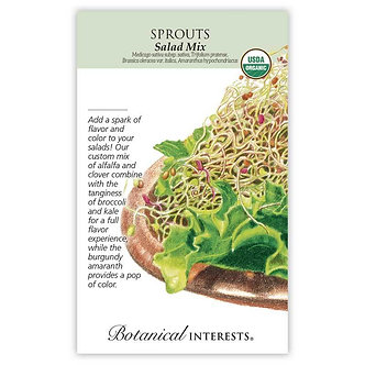 Sprouts Salad Mix Org