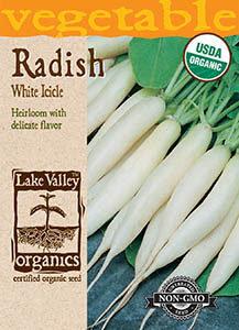ORGANIC RADISH WHITE ICICLE