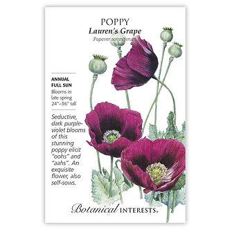 Poppy Lauren's Grape