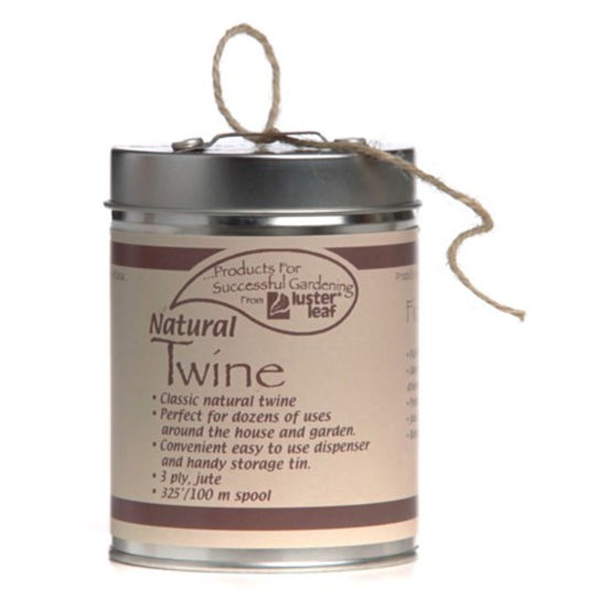 Lusterleaf 402 325 Ft. Natural Rapiclip 3-Ply Twine