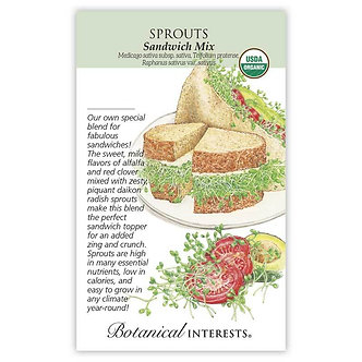 Sprouts Sandwich Mix Org