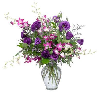 Blue & Pink Vase Arrangement