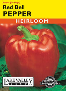 PEPPER SWEET RED BELL  HEIRLOOM