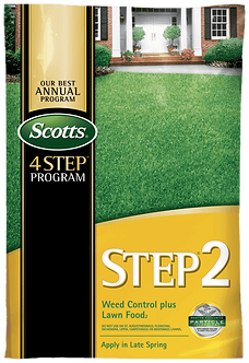 Scotts STEP 2 - Weed Control Plus Lawn Food 2 5,000 Sq Ft