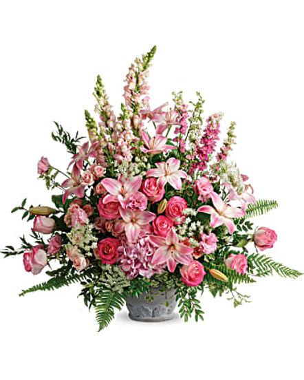 Teleflora's Graceful Glory Bouquet