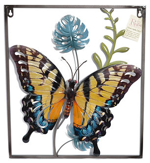 LUSTER WALL DECOR BUTTERFLY