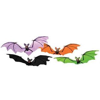 BATS HANGING COLORFUL 21
