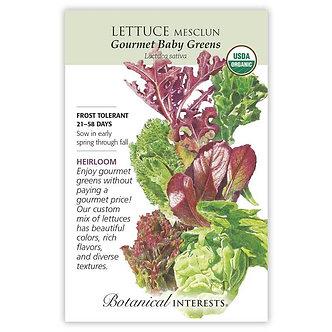 Lettuce Mesclun Grmt Baby Org