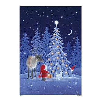 Korsch Advent  Tomte w/Reindeer
