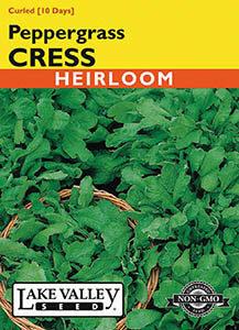 CRESS PEPPERGRASS  HEIRLOOM