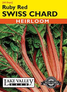 SWISS CHARD RUBY RED   HEIRLOOM