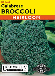 BROCCOLI CALABRESE   HEIRLOOM