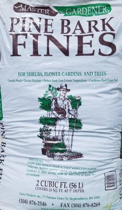 Pine Bark Fines 2 Cubit feet