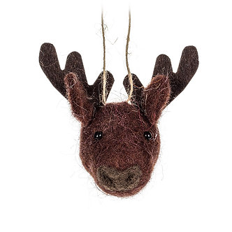 ORNAMENT DEER HEAD