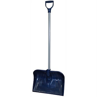 18IN POLY COMB SNOW SHOVEL