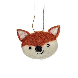 ORNAMENT FOX HEAD