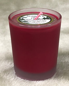 SOY VOTIVE 2 OZ BURGUNDY
