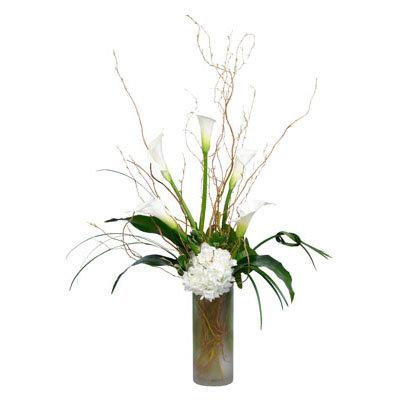 White Callas & Hydrangea
