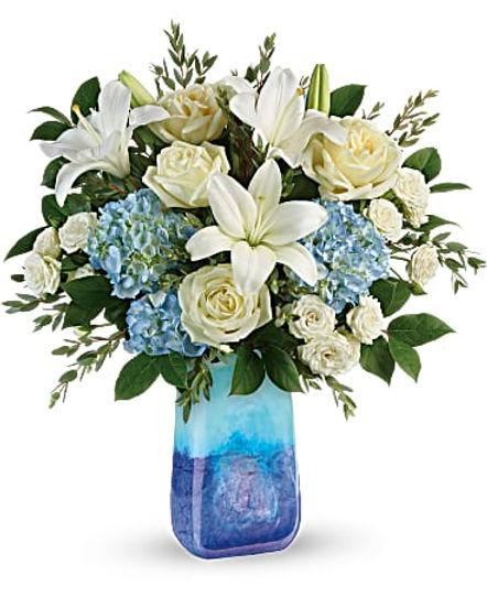 Teleflora's Ocean Sparkle Bouquet