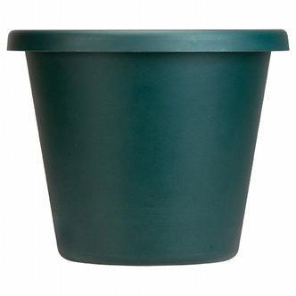 Myers/Akro Mills 14'' Clay Plastic Classic Pot