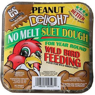 Peanut Delight Assorted Species Wild Bird Food Beef Suet 11.75 Oz.