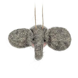 ORNAMENT ELEPHANT HEAD