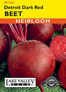 BEET DETROIT DARK RED   HEIRLOOM