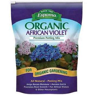 Espoma Organic African Violet Potting Mix 4 qt