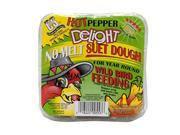 Hot Pepper Delight No Melt Suet Dough Cake  11.75 Oz