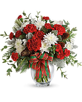 Teleflora's Holiday Shine Bouquet