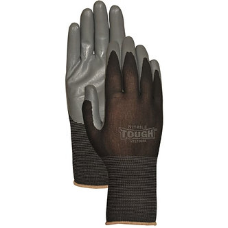 Hoffman 639751137323 NT3700BKM Medium Nitrile Tough Black Work Glove
