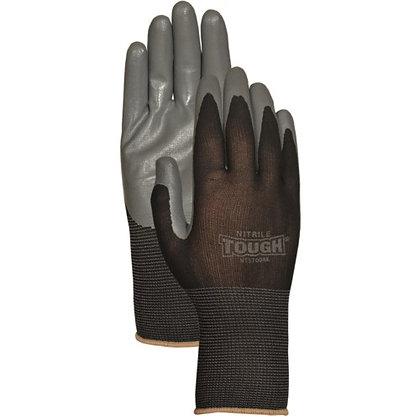 Hoffman 639751137323 NT3700BKM Medium Nitrile Tough Black Work Glove