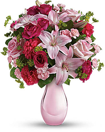 Mary Kay's Perfect Blush Bouquet by Teleflora