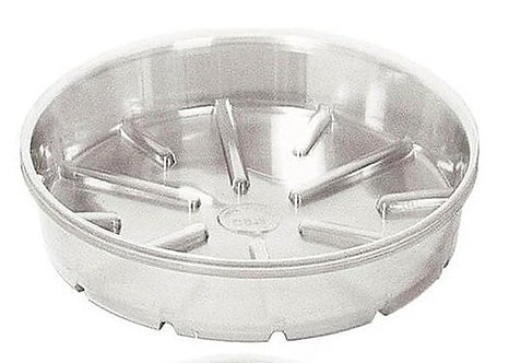 Bond Manufacturing 430200865 CVS008 8 in. Plastic Saucer Clear