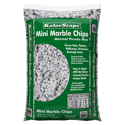 Marble Chips .5 Cubic feet