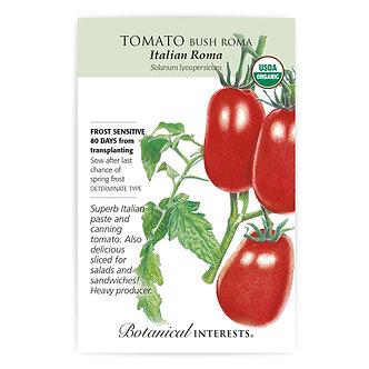 Tomato Bush Roma Italian Org