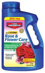 Bayer Advanced 6-9-6 2 in 1 Systemic Rose & Flower Care