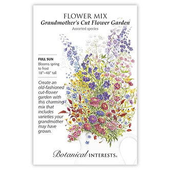 F Mix Grandmothers Cut Flower Gdn