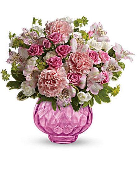 Teleflora's Simply Pink Bouquet