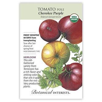 Tomato Pole Cherokee Purple Org