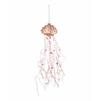 ORNAMENT PINK  JELLYFISH