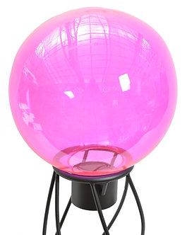 Gazing Globe 'Pink Handblown Glass' 10 Inch