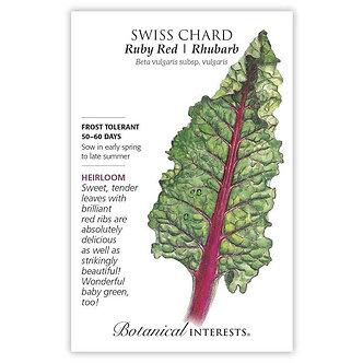 Swiss Chard Ruby Red Org