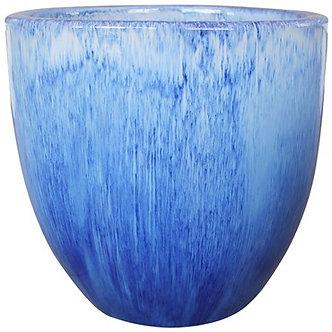 MCarr 9.1in Egg Planter Falling Blue