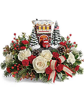 Thomas Kinkade's Hero's Holiday Bouquet