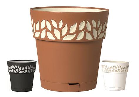"Leaf Pot 9.8"""