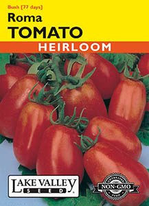 TOMATO BUSH ROMA  HEIRLOOM