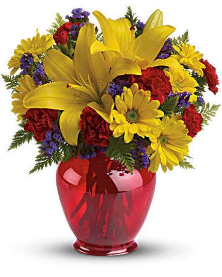 Teleflora's Let's Celebrate Bouquet