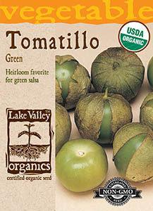 ORGANIC TOMATILLO GREEN  HEIRLOOM